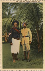 Fijian and Indian Constables