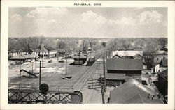 View of Town, Railroad Depot
