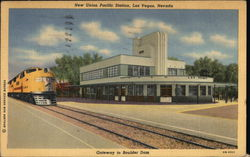 New Union Pacific Station Postcard