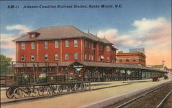 Atlantic Coastline Railroad Station