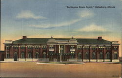 Burlington Route Depot