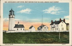 Cape Blanco Light House