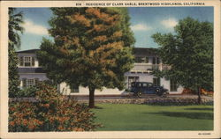 Residence of Clark Gable,Brentwood Highlands