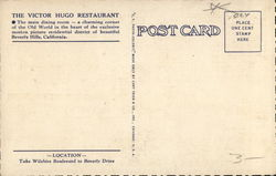 The Victor Hugo Restaurant
