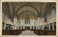 Section of General Waiting Rooms, Terminal Station