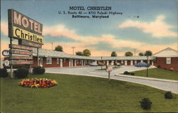 Motel Christlen, U.S. Route 40 - 8733 Pulaski Highway