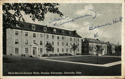 Shaw-Beaver-Sawyer Halls, Denison University