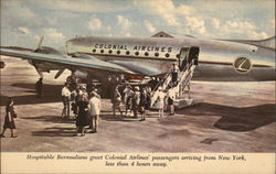 Colonial Airlines Flights from Bermuda to New York