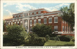 De Merritt Hall, Engineering Building U. of N.H.