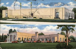 Horticultural Hall, Hall of Domestic Arts - Texas Centennial Exposition