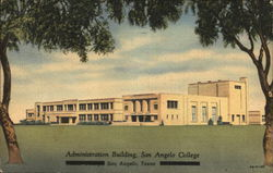 Administration Building, San Angelo College