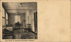 Sun Room of Clarinda Municipal Hospital