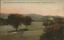 Moat Range and Kearsarge Country Club, White Mountains