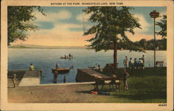 Bathing at the Park, Skaneateles Lake