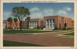 Pulaski Academy and Central School Postcard