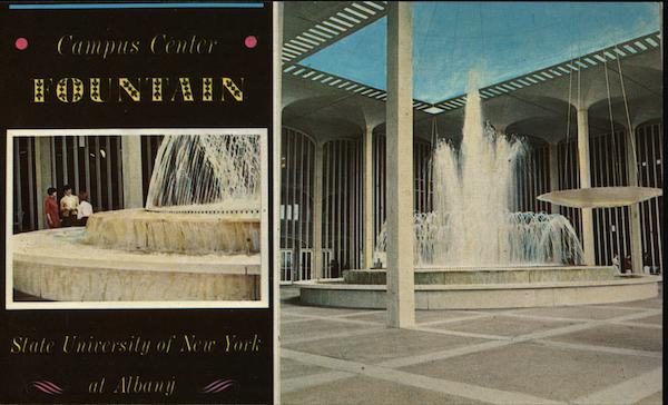 Campus Center Fountain Albany New York