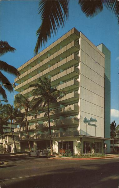 Aina Luana Apartment Hotel Waikiki Hawaii