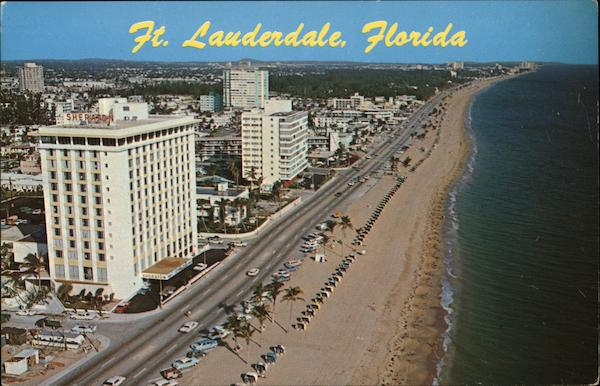 Aerial View of Ft. Lauderdale Fort Lauderdale Florida