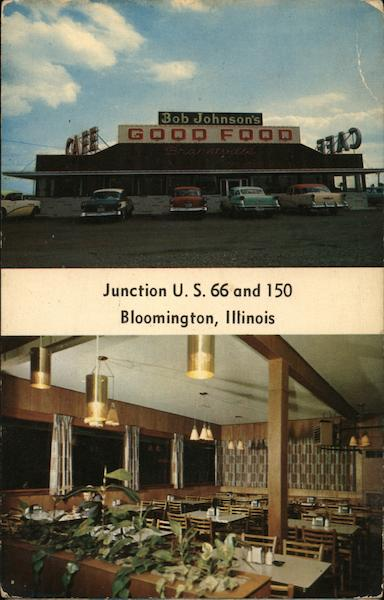 Bob Johnson's Bradtville Restaurant Bloomington Illinois