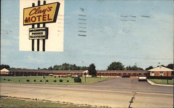 Clay's Motel Aberdeen Maryland