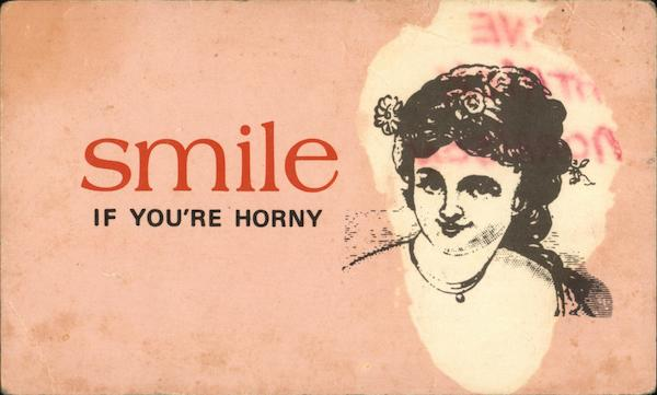 Smile if You're Horny Comic, Funny