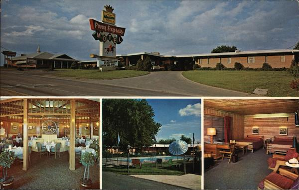 Pony Express Motel, Restaurant and Captain's Lounge St. Joseph Missouri
