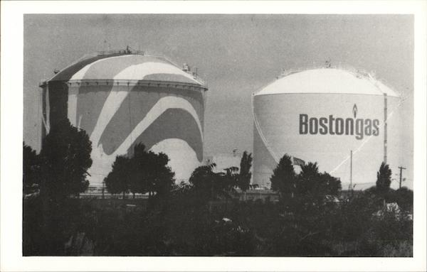 Natural Gas Storage Tanks Boston Massachusetts