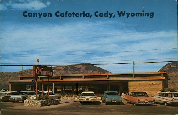 Canyon Cafeteria Cody Wyoming Eric J. Seaich