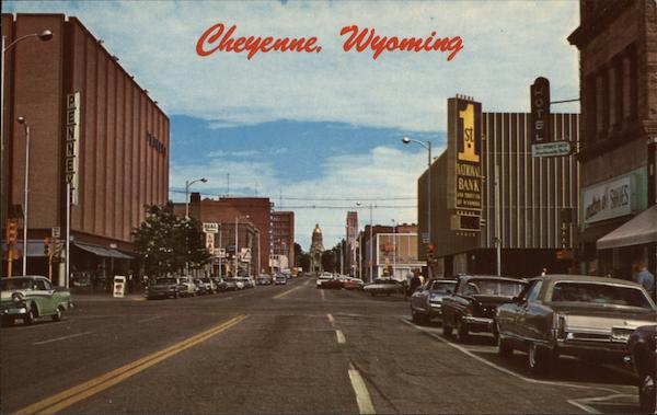 Capital Avenue Cheyenne Wyoming Ruth Shroyer