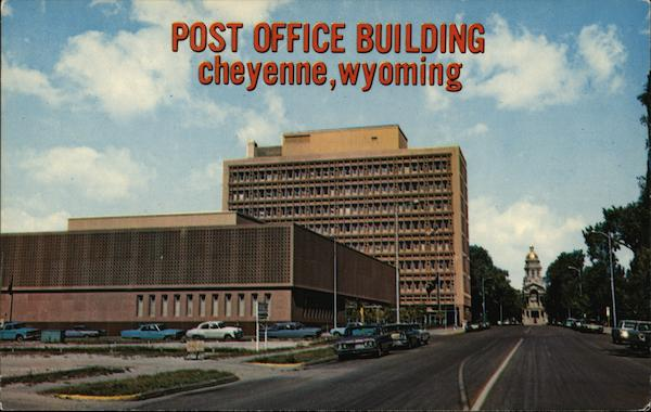 Post Office Building Cheyenne Wyoming