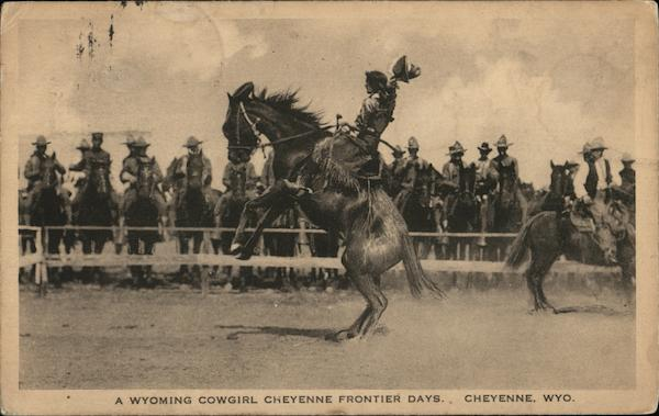 A Wyoming Cowgirl, Cheyenne Frontier Days