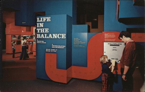 Life in the Balance, Museum of Science at Science Park Boston Massachusetts