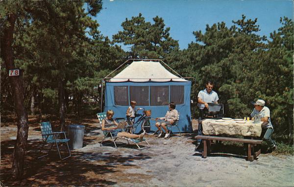 Carefree Camping, Cape Cod