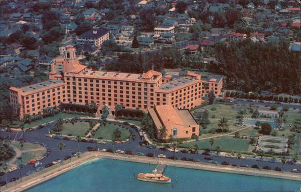 Aerial View of Vinoy Park Hotel St. Petersburg Florida