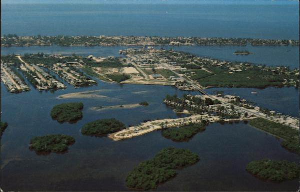 Aerial View Fort Myers Florida