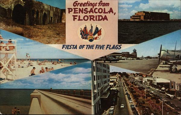 Various Views of Area Pensacola Florida