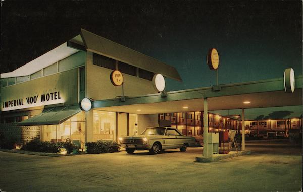 Imperial 400 Motel Cocoa Beach Florida Chuck Rogers