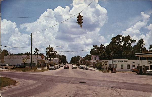 Street View Looking South Keystone Heights Florida