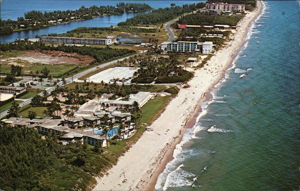 Aerial View of Lovely Lantana Beach Florida Larry Witt