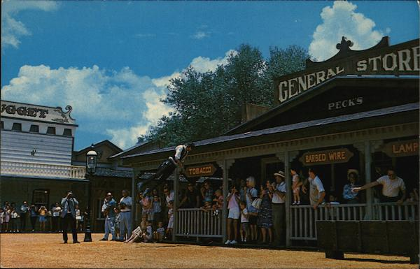 Authentic Gunfights and Stunt Men, Pioneer City Davie Florida