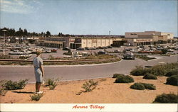 Aurora Village Shopping Center Postcard