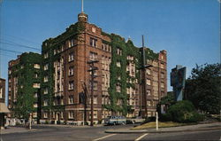The Biltmore Apartments Postcard