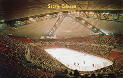 Seattle Coliseum Postcard