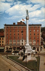 The Hendrick Hudson Hotel at Monument Square Postcard
