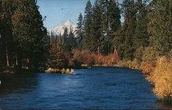 Metolius River & Mt. Jefferson
