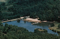 Aerial View of Blue Star Camp For Girls and Boys