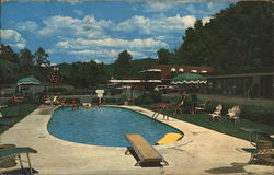 Old White Motel Pool, Near the Greenbrier Hotel