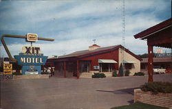 XIT Ranch Motel Postcard