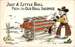 Just a Little Bull From an Old Bull Shipper