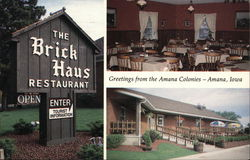 View of the Brick Haus Restaurant